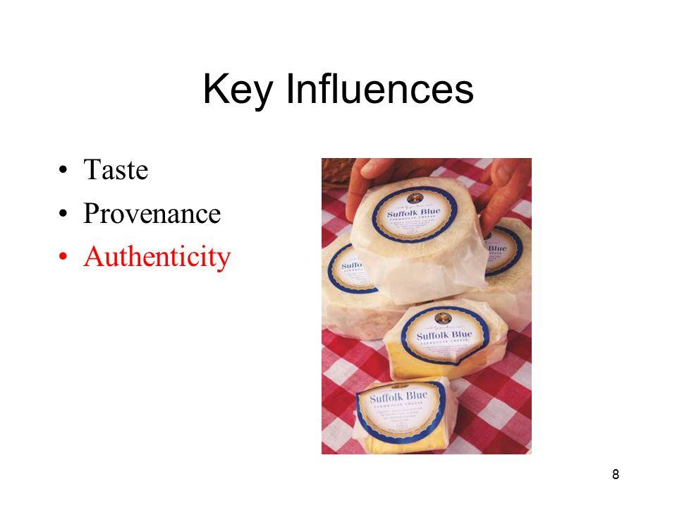 Key Influences Taste Provenance Authenticity 8