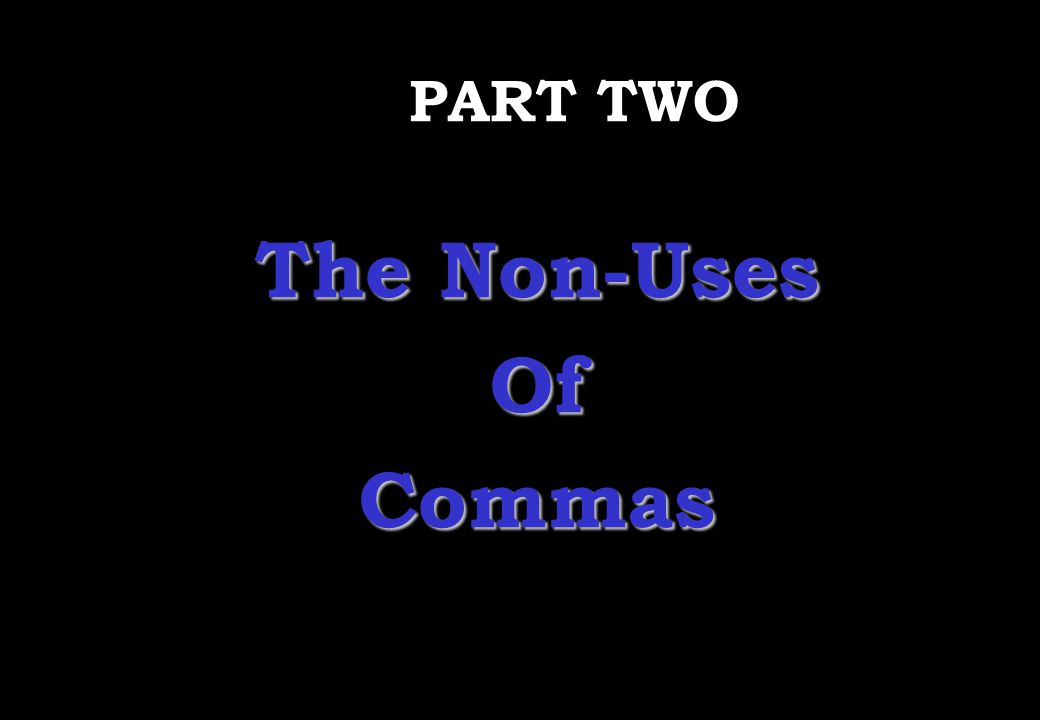 Wednesday, April 29, 2015 PREPARED BY ITH ESARA 15 The Uses of Commas 12.A comma is used after opening or closing words or phrases of a formal letter.