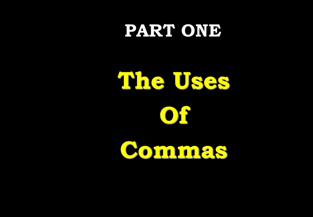 Wednesday, April 29, 2015 PREPARED BY ITH ESARA 2 The Uses and Non-uses of Commas  Points to remember There are twelve ways to use a comma in an English sentence.