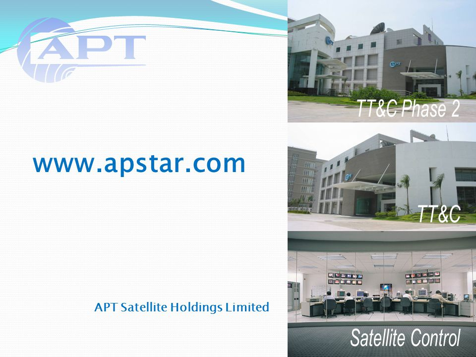 24 APT Satellite Holdings Limited www.apstar.com