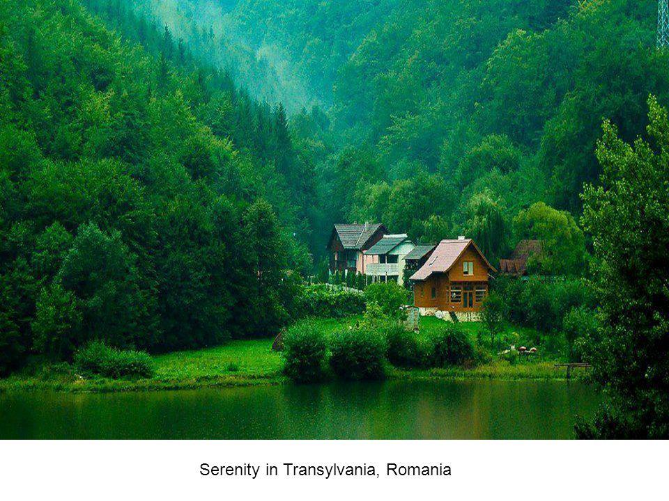 Serenity in Transylvania, Romania