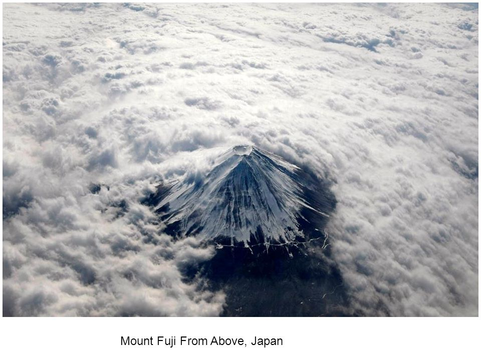 Mount Fuji From Above, Japan