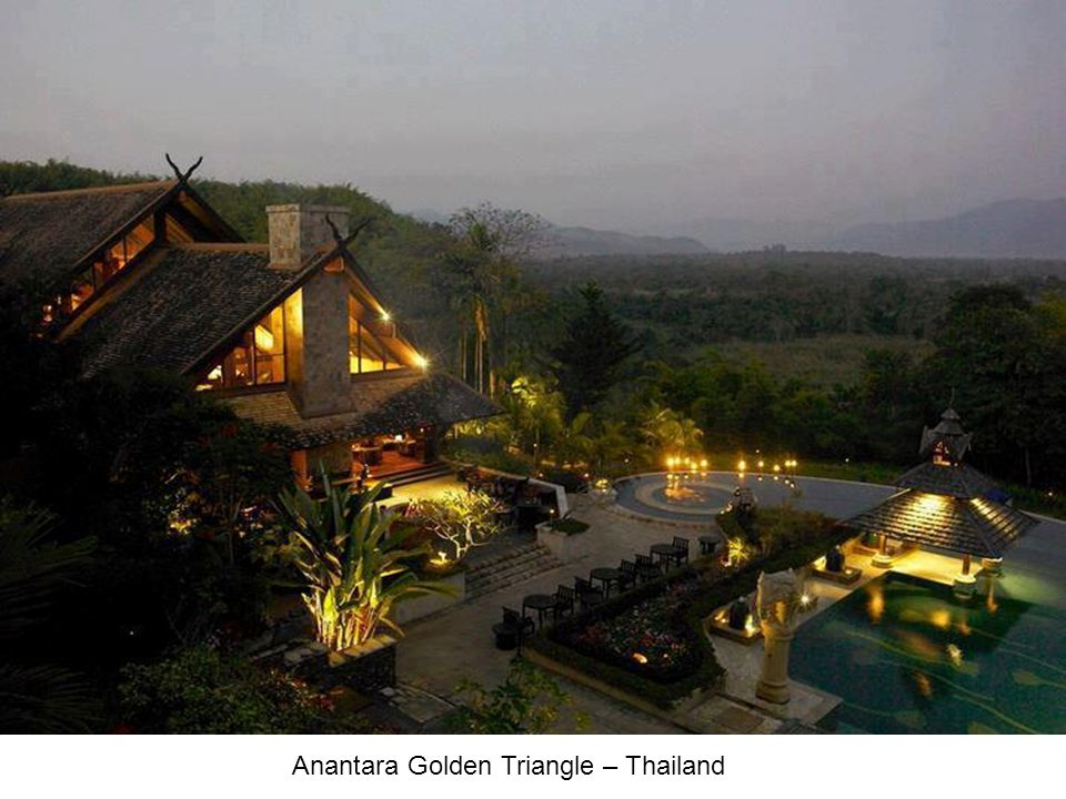 Anantara Golden Triangle – Thailand