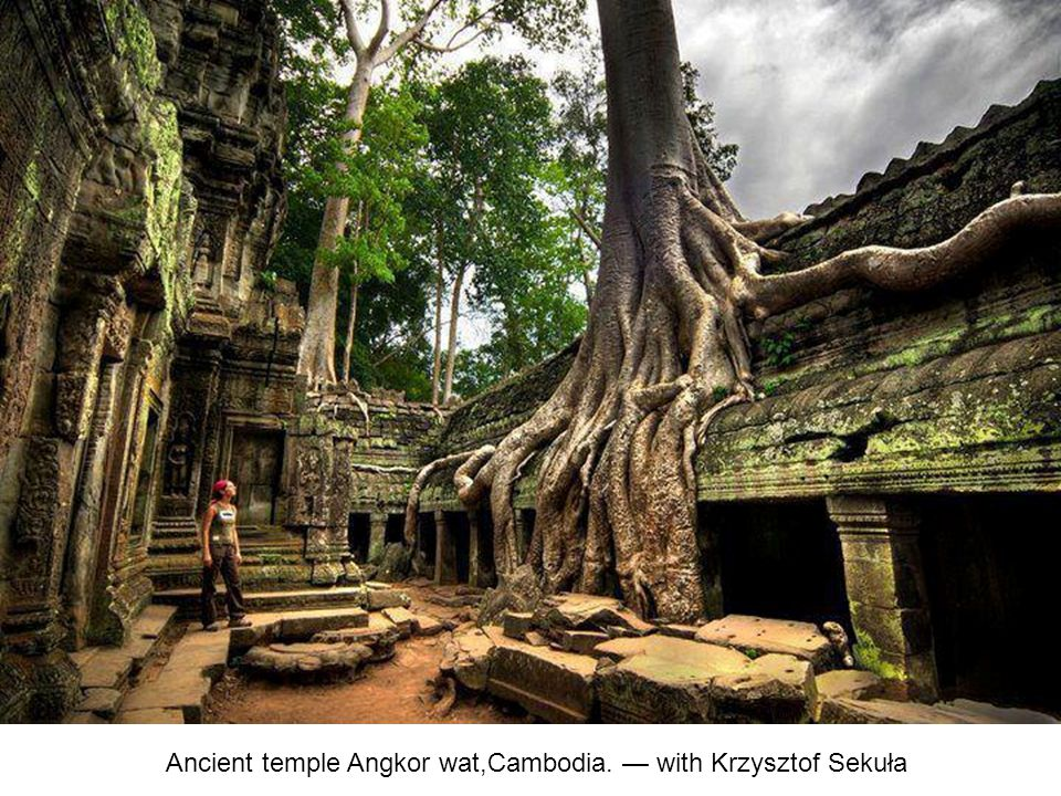 Ancient temple Angkor wat,Cambodia. — with Krzysztof Sekuła