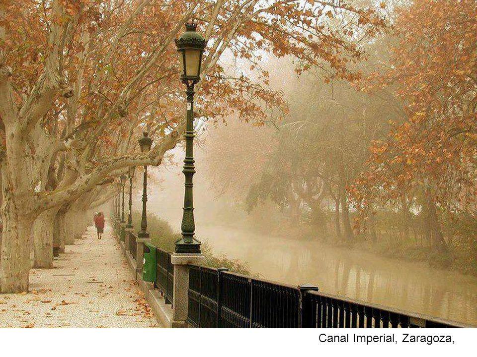 Canal Imperial, Zaragoza,