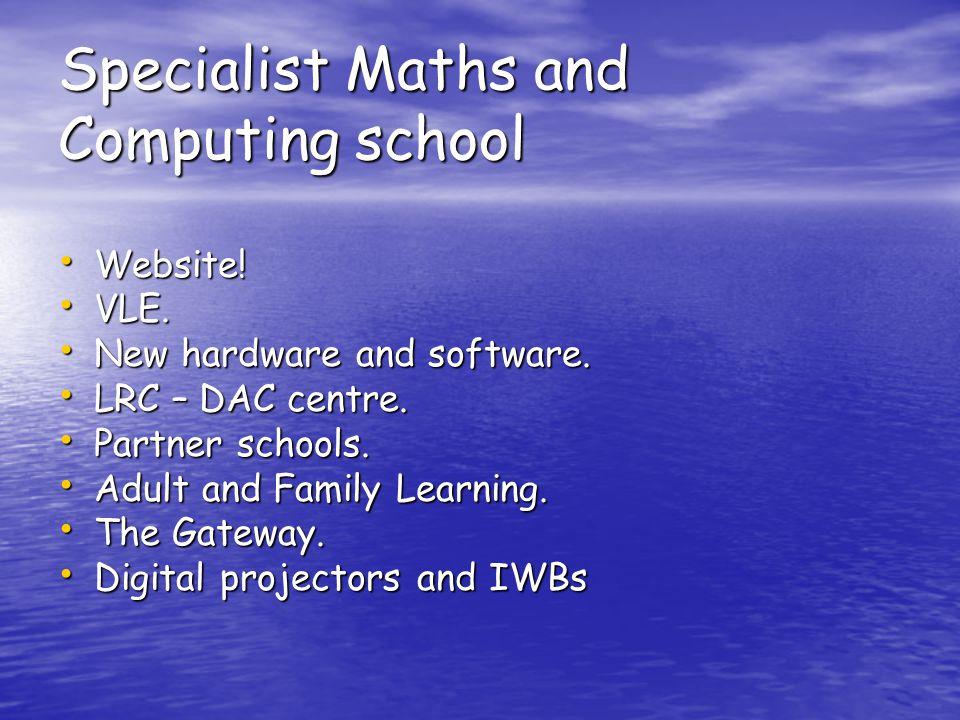 Specialist Maths and Computing school Website. Website.
