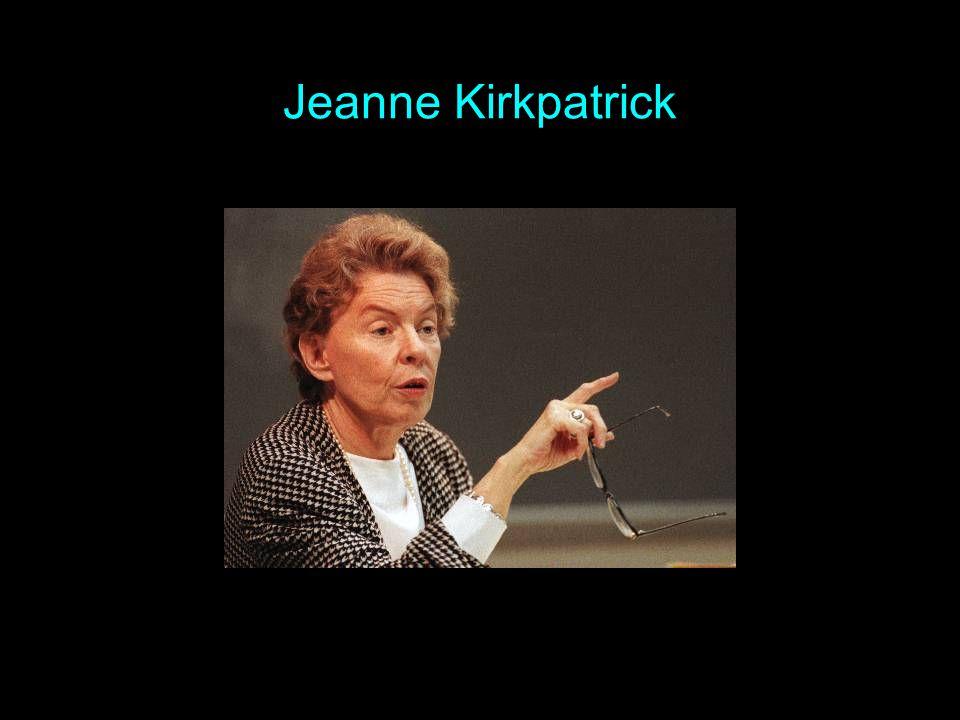 Jeanne Kirkpatrick