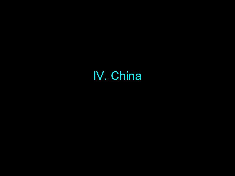 IV. China