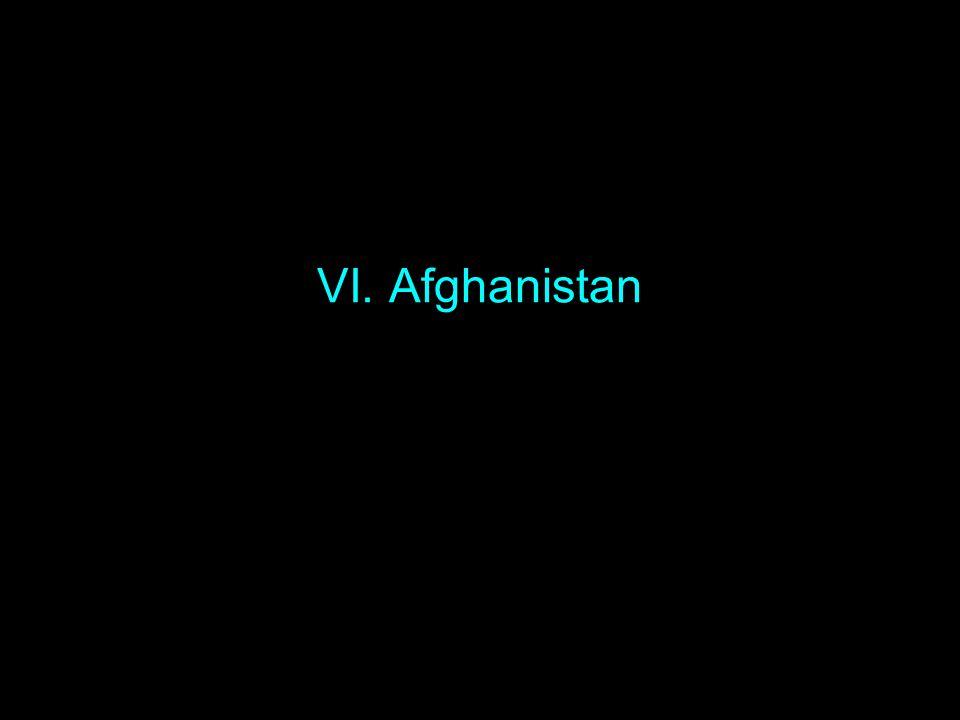 VI. Afghanistan