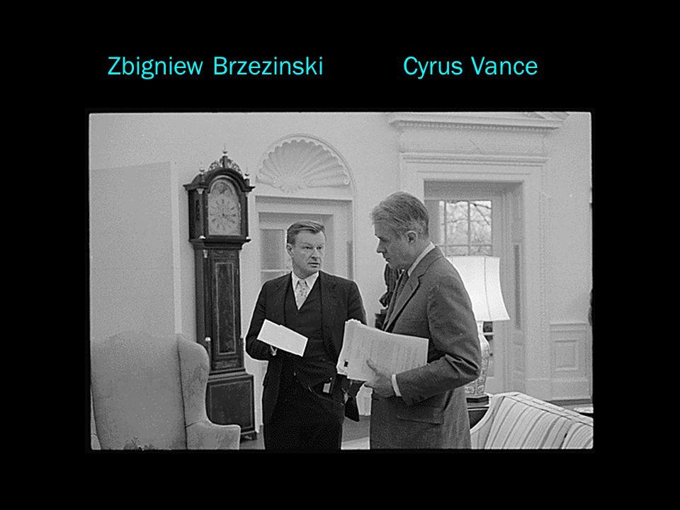 Cyrus VanceZbigniew Brzezinski