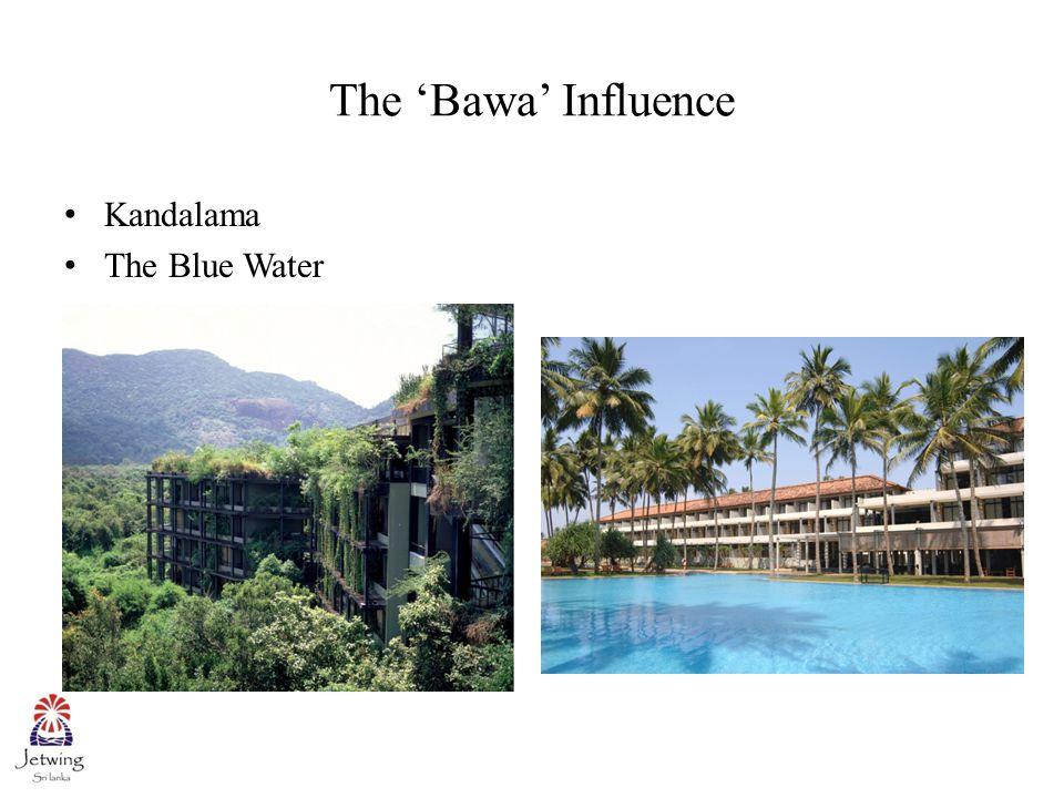 The 'Bawa' Influence Royal Oceanic Hotel Triton