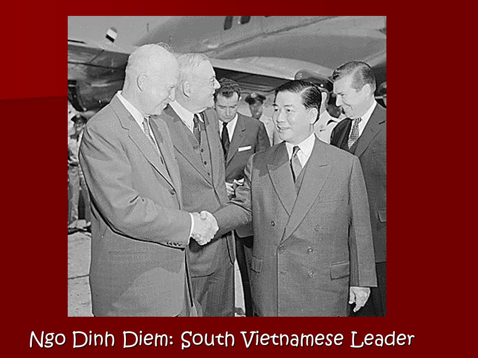 Two sides agreed to a Communist North Vietnam and a pro-Western South Vietnam.