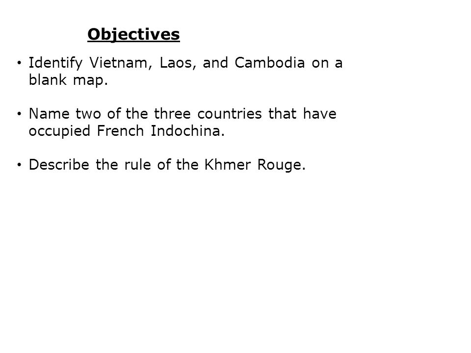 Terms and Places Khmer Rouge was a communist group that took control of Cambodia in the 1970s.