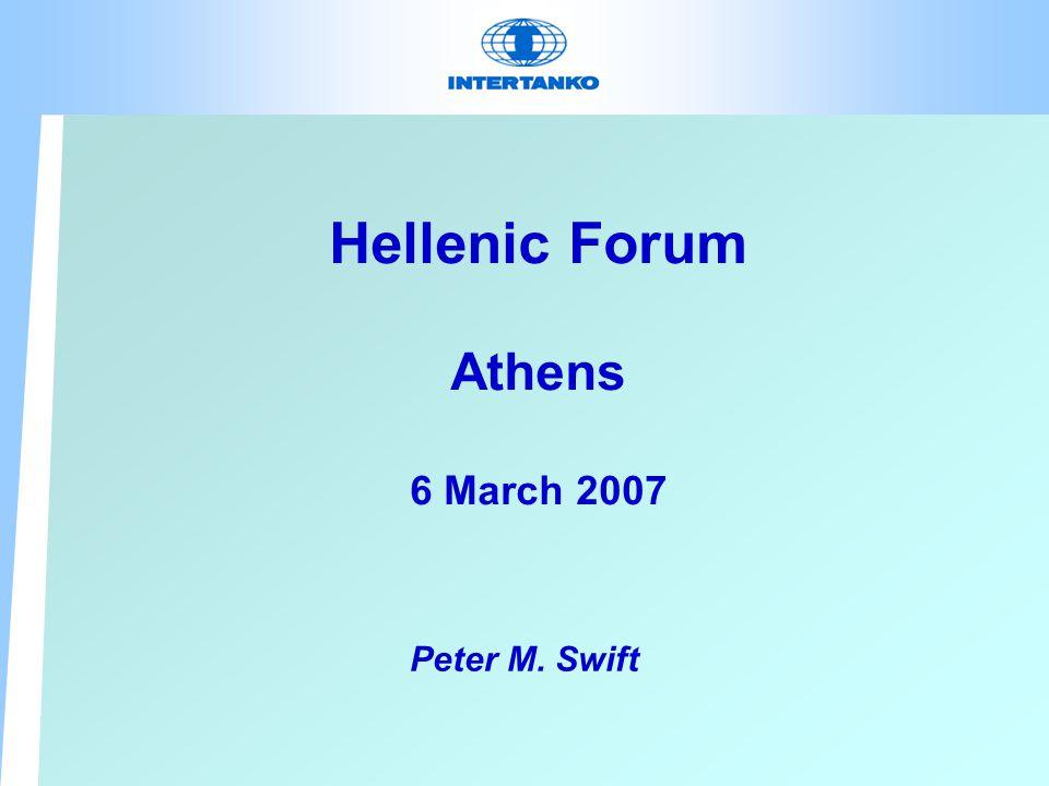 Hellenic Forum AIR EMISSIONS Peter M. Swift
