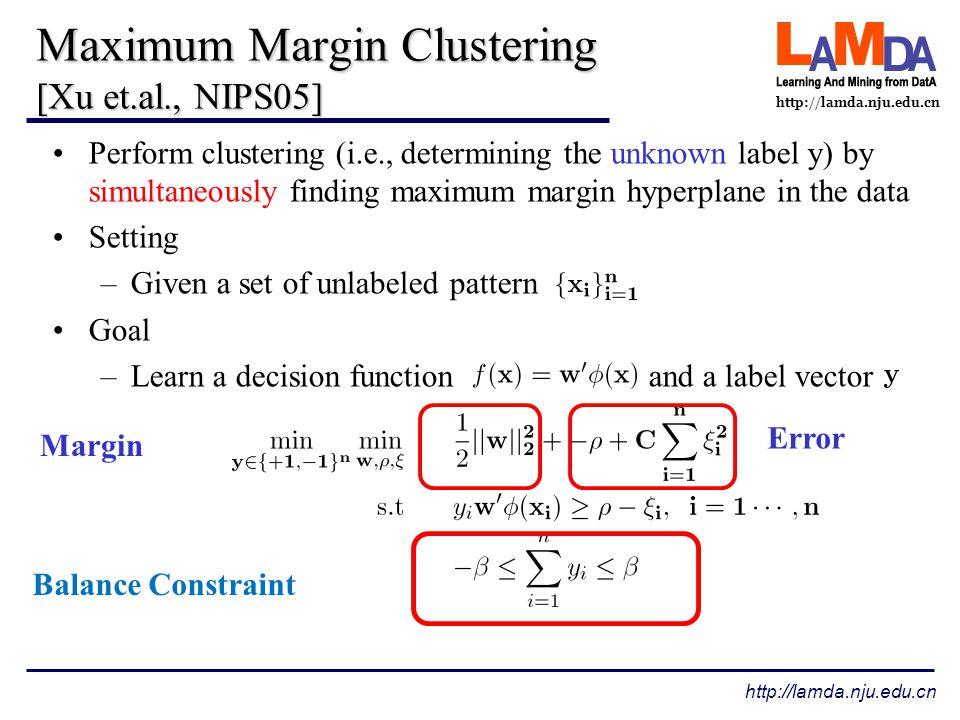 http://lamda.nju.edu.cn Win-tie-loss Global method vs local method –Global method are better than local method.