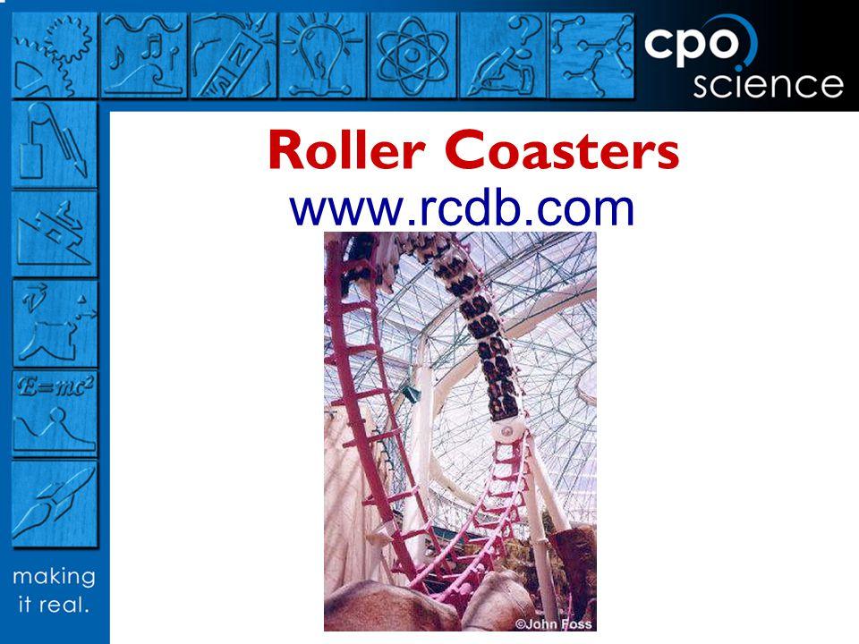 Roller Coasters www.rcdb.com