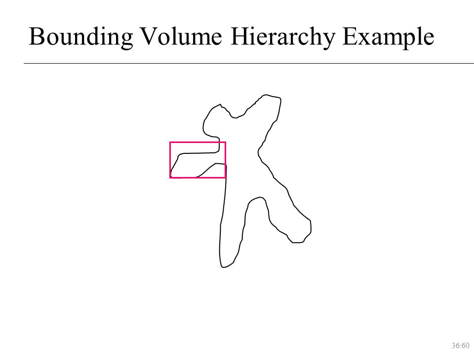 36/60 Bounding Volume Hierarchy Example