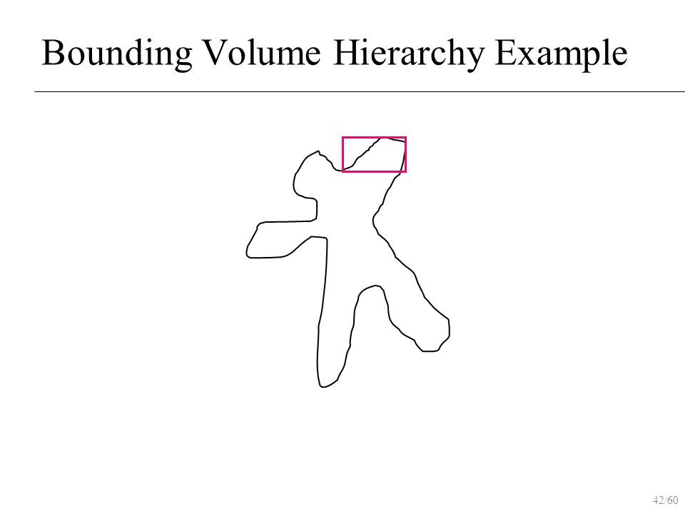 42/60 Bounding Volume Hierarchy Example