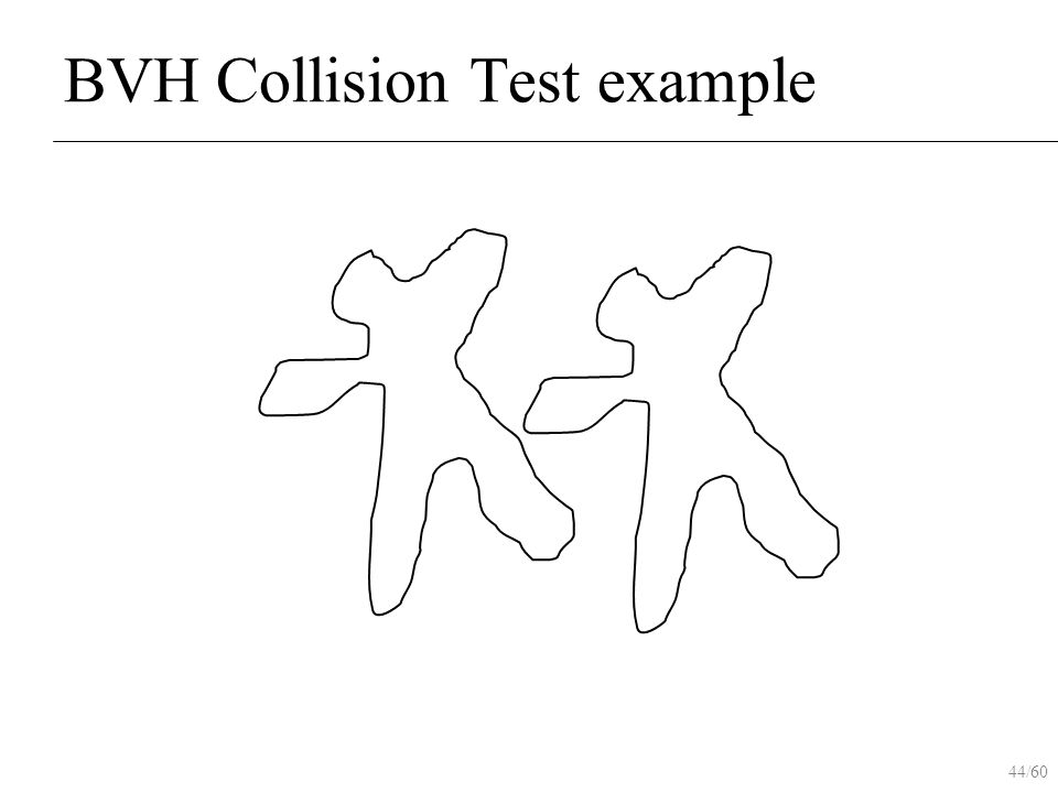 44/60 BVH Collision Test example