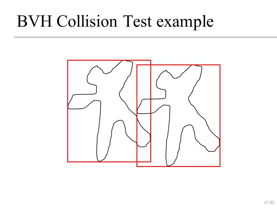 45/60 BVH Collision Test example