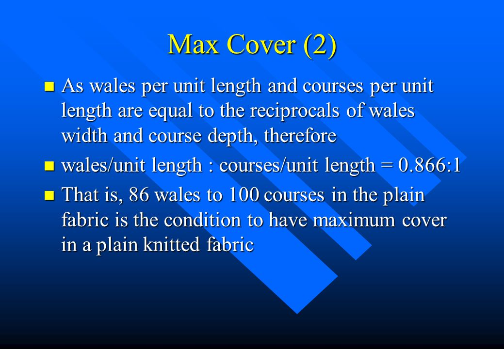 Maximum Cover n For a maximum cover, an equilateral triangle is constructed.
