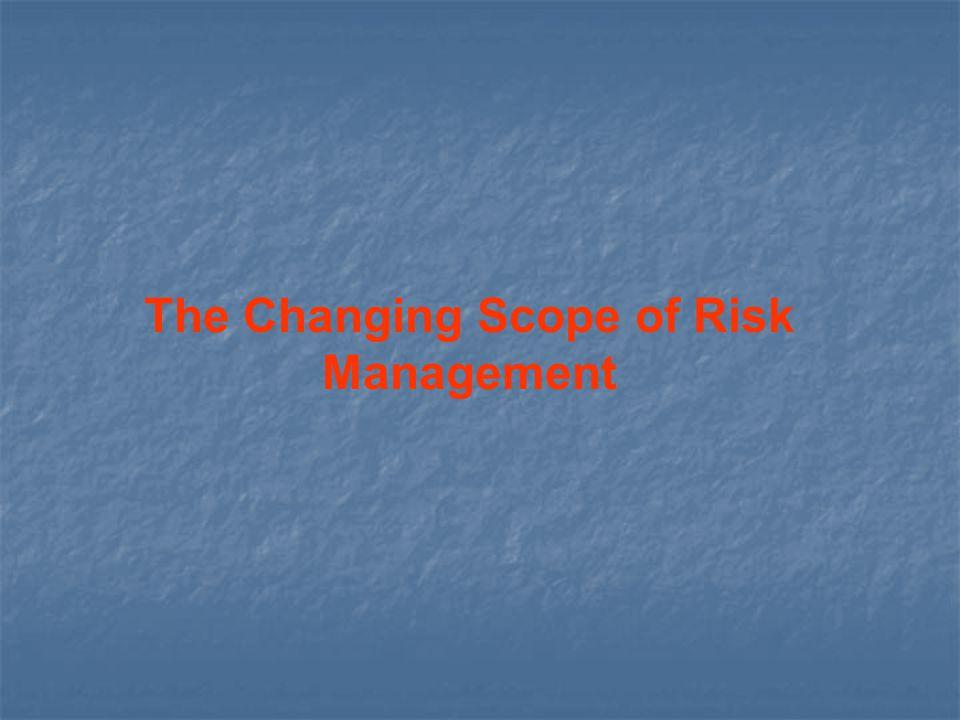 Financial Risk Management Enterprise Risk Management