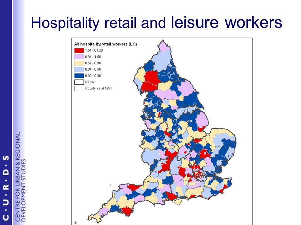 Hospitality retail and leisure workers