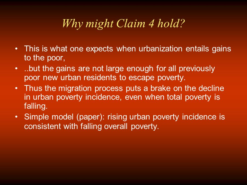 Why might Claim 4 hold.