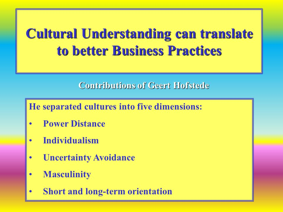 What is national culture.National culture is the mental programming of a group of people.