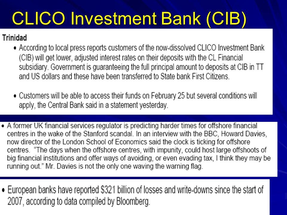 CLICO Investment Bank (CIB)