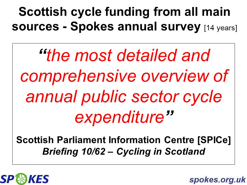 the Lothian Cycle Campaign