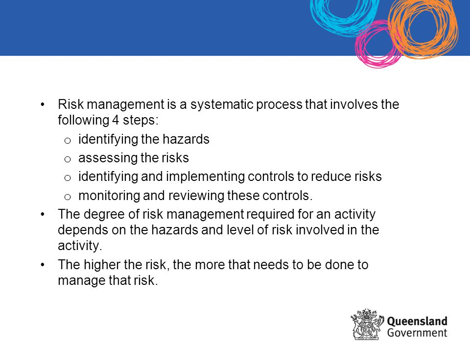 CARA guidelines assist staff to assess risks, minimise risks, and conduct curriculum activities as safely as possible.