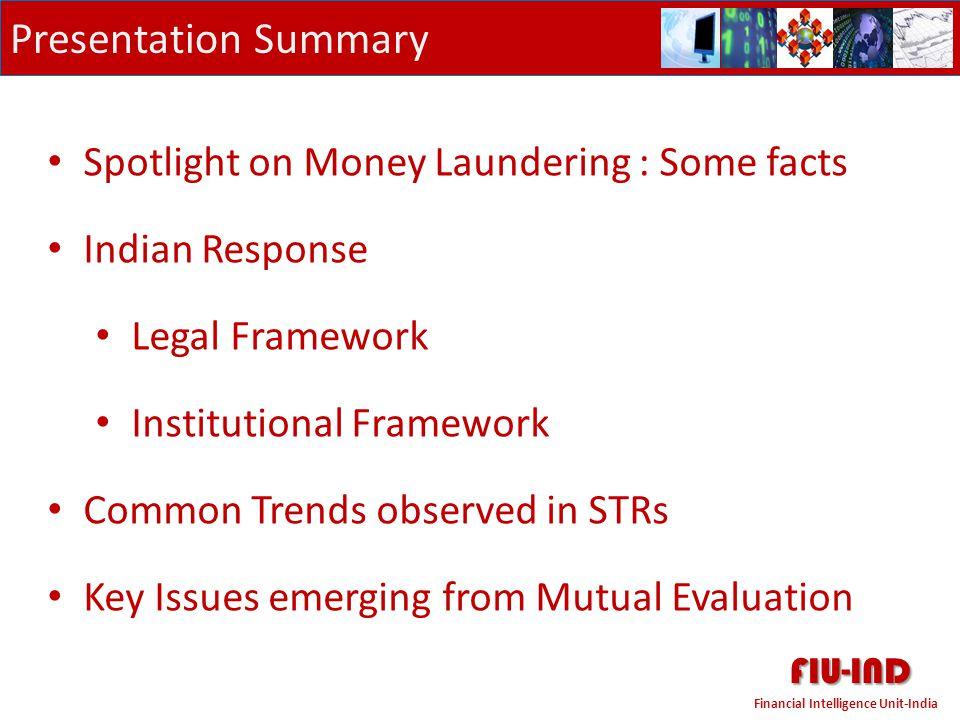 FIU-IND Financial Intelligence Unit-India Spotlight on Money Laundering