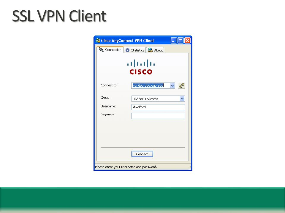 SSL VPN Client