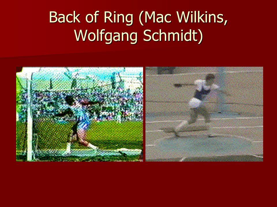 Back of Ring (Mac Wilkins, Wolfgang Schmidt)