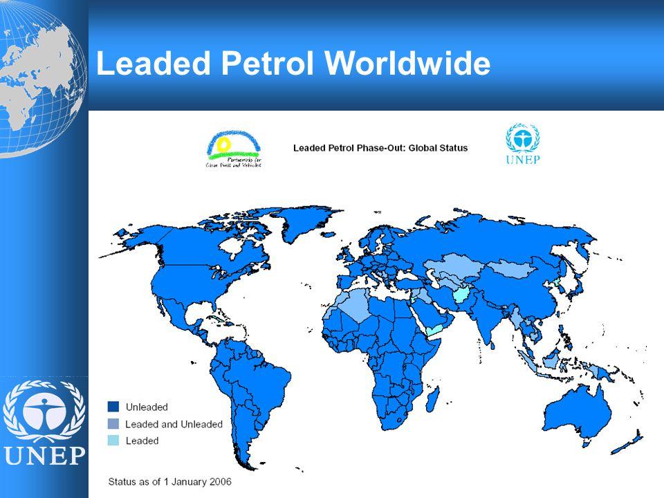 Leaded Petrol Worldwide