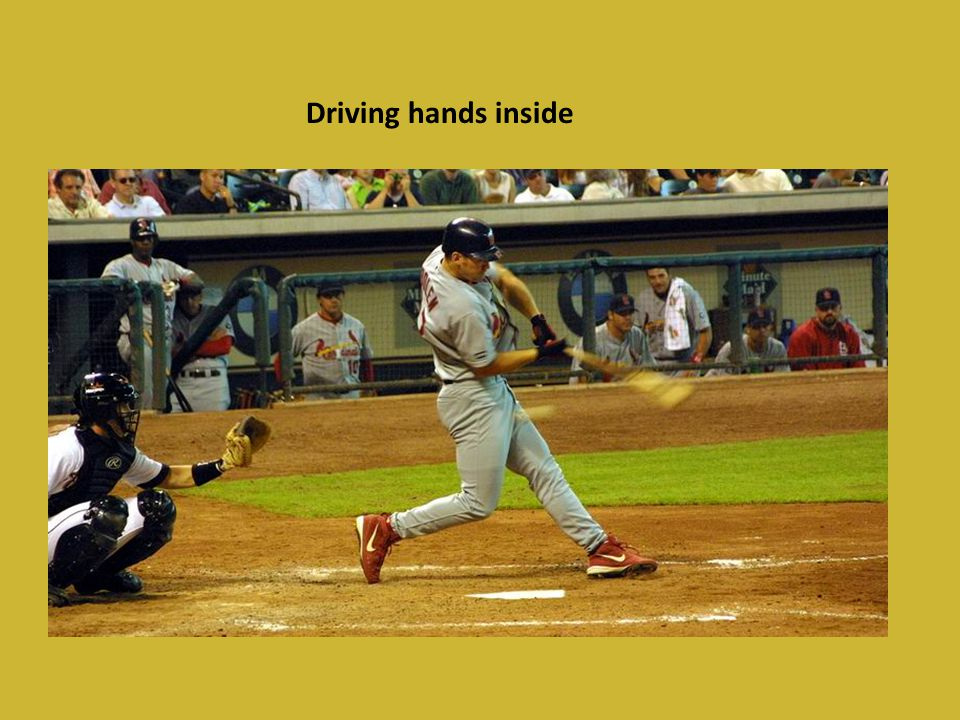 Driving hands inside