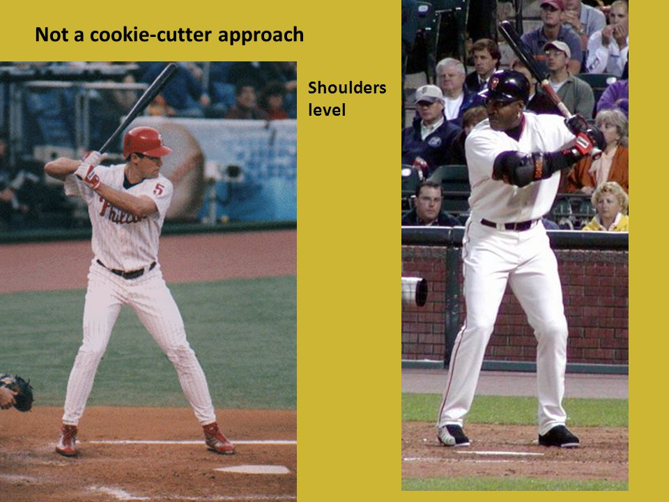 No extension through contact Swinging across the ball Bat being pulled across the ball Ball will roll-off the end of the bat = spinning toward right field line