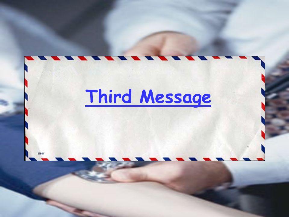 Third Message