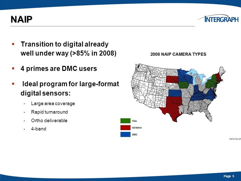 Page 16 DMC Digital Mapping Camera