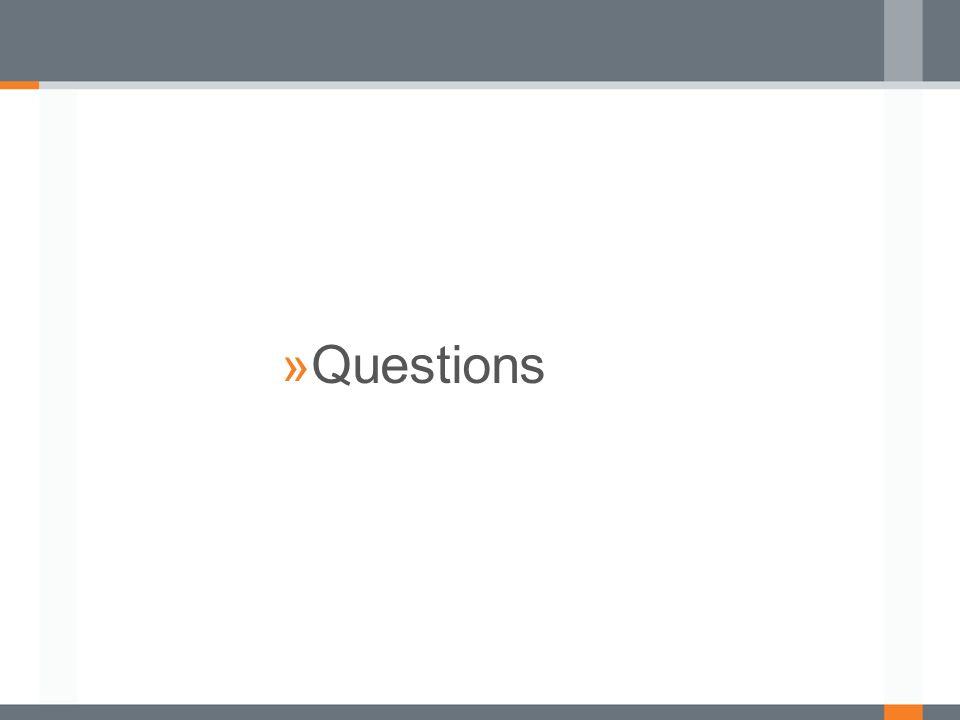 »Questions