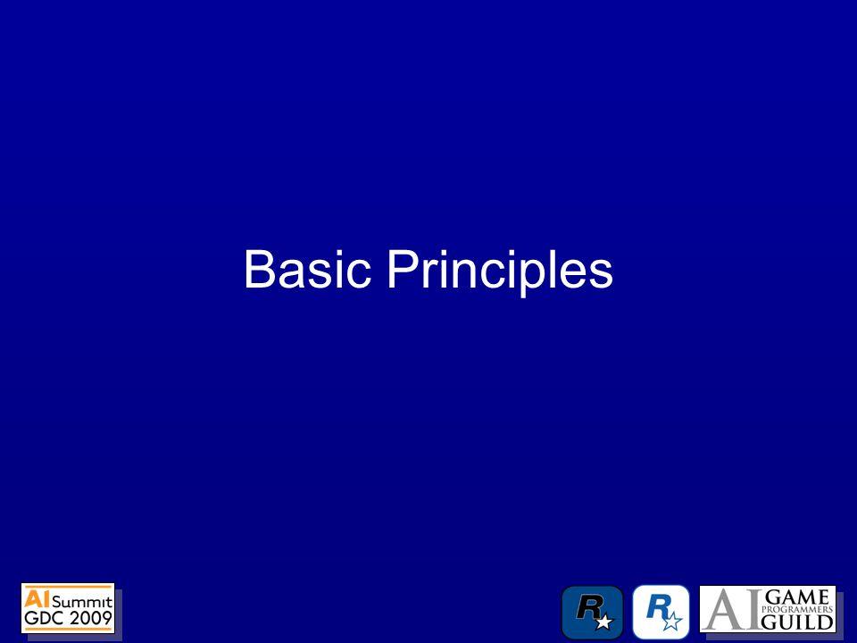 –Best Practices –Strict interfaces –Multiple takes on problems –Concepts –Commutability –Components –Algorithms –Hierarchy –Pattern Recognition –Human Sciences Good reusable AI is about