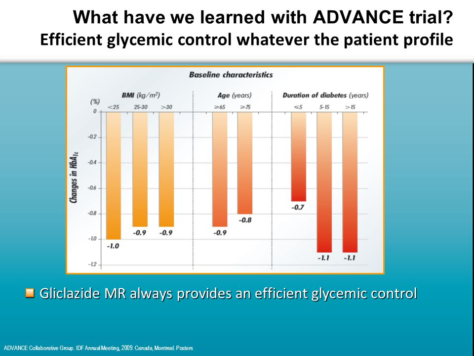 What have we learned with ADVANCE trial.