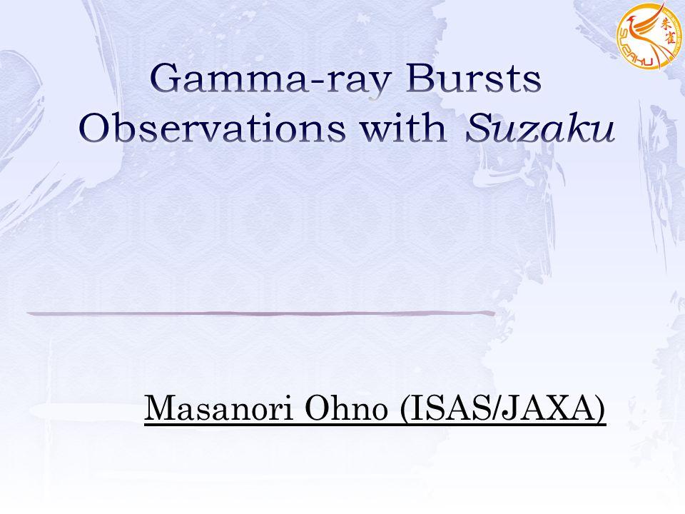 Masanori Ohno (ISAS/JAXA)