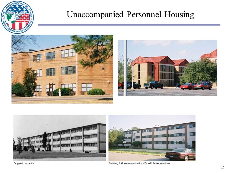12 Unaccompanied Personnel Housing