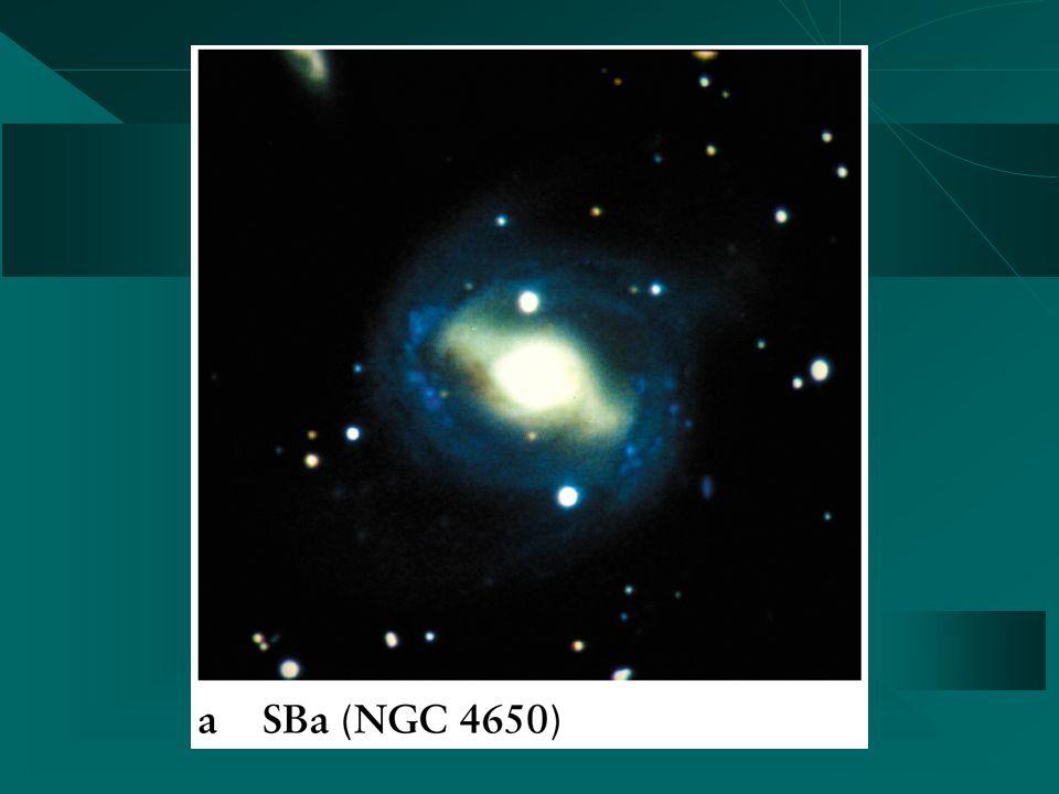 SBa SBb SBc Barred Spirals
