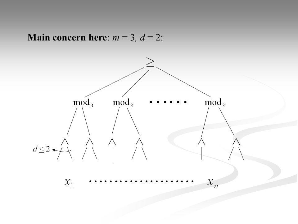 Gap Theorem continued:
