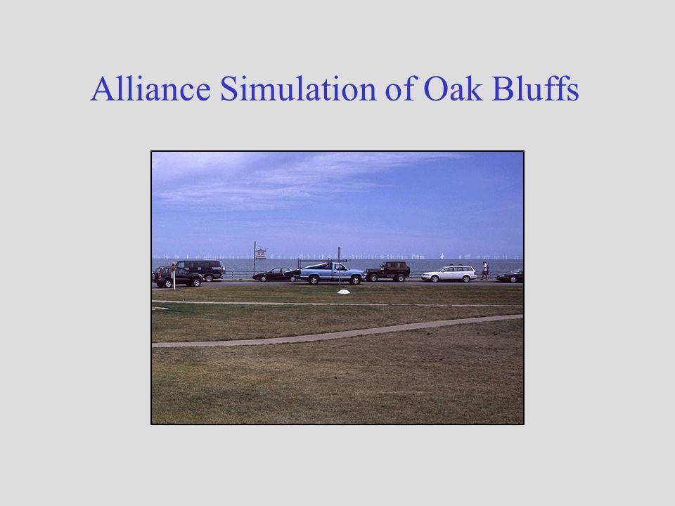 Alliance Simulation of Oak Bluffs