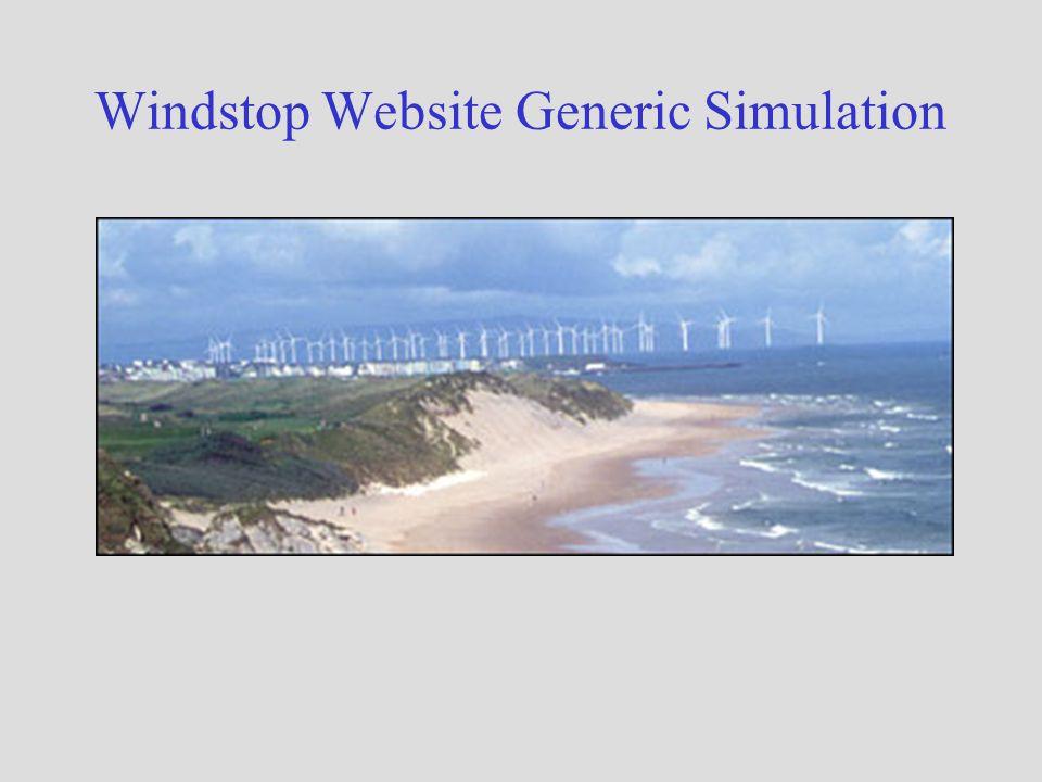 Windstop Website Generic Simulation