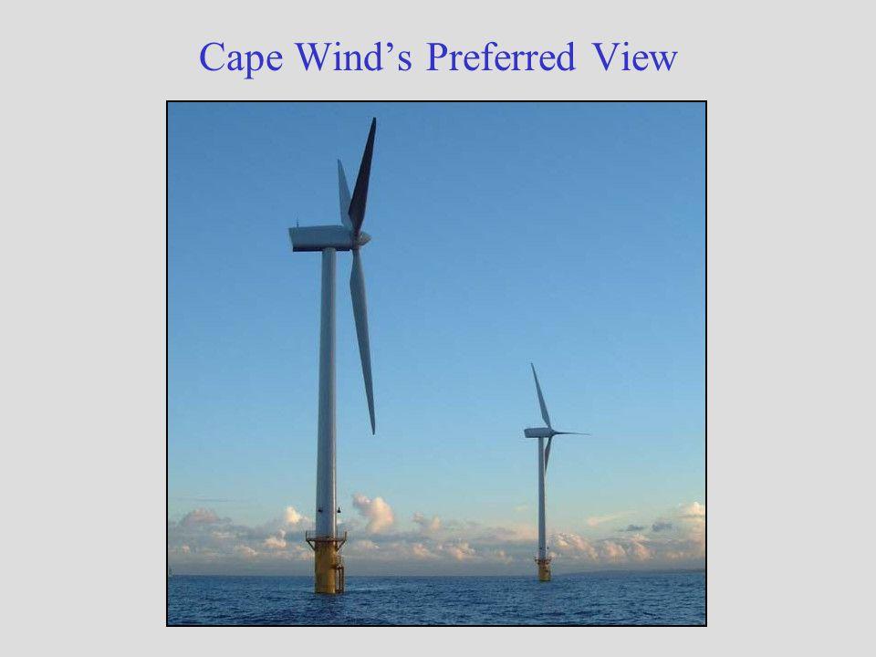Cape Wind's Preferred View